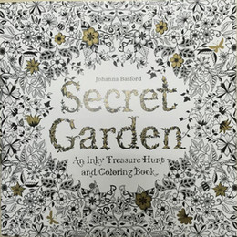 Wholesale Picture Album Books - Animal Kingdom Lost Ocean Enchanted Forest Secret Garden An Inky Adventure and Coloring Book graffiti coloring Picture album stress reliever