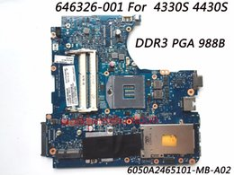 Wholesale Laptops Motherboard For Sale - Superior Quality Laptop Motherboard For HP 4330S 4430S Motherboard 646326-001 DDR3 Chipset HM65 100% Fully Tested Whole Sale