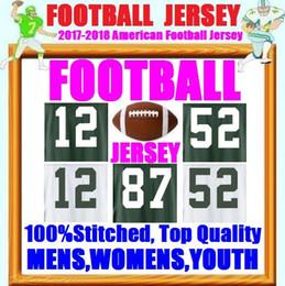 Wholesale Green Bay Football Jerseys - American Football Jerseys Brett Favre Bart Starr Ha Ha Clinton-Dix Reggie White Vapor Untouchable Color Rush Jersey Green Bay Stitch Packer