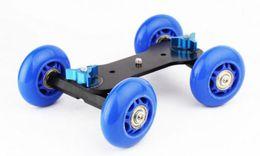 Wholesale Track Video Slider - Mini desktop camera rail car table dolly video slider track Mobile camera car for 11 inch Arm Photography Bracket
