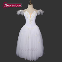 Wholesale Wear Ballet Women - Romantic Tutu Ballerina Dress SD0006D Fairy Ballet Tutu Dance Wear Ballet Costumes Adults Ballet Tutu Dress