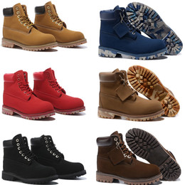 Wholesale Cotton Motorcycles - Wholesale new genuine leather men boots snow boot Martin boots leather boots man Outdoor waterproof shoes free shipping