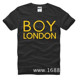 Wholesale Boy London Men - WISHCART Bigbang Zhi-Long GD Inkigayo boy london Mens Men T Shirt Tshirt Fashion 2016 Short Sleeve Cotton T-shirt Tee Camisetas Hombre