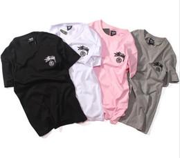 Wholesale Quality Photo Prints - EU Size High Quality YEEZUS 17FW Nas photo T Shirts Men Women 100% Cotton Tops O-neck Short Sleeves palace Tee Streetwear yeezus T-shirt