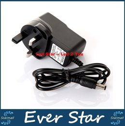 Wholesale Power 12v Au - Led Strips Lights AC 100-240V to DC 12V 1A UK AU Plug AC DC Power Adapter Charger CCTV Power Supply Adapter