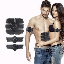 Wholesale Fat Burning Device - Smart Fat Burning Device Electric Muscle Stimulator EMS Body Slimming Beauty Machine Muscle Exerciser Electro Body Toning Massager KKA3170