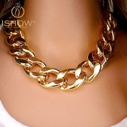 Wholesale Ccb Chain - Fashion Necklaces For Women 2014 18K Gold&Silver Plated Gift CCB Chain Statement Necklaces & Pendants Women Jewelry Wholesale