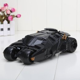 Wholesale Batman Batmobile Tumbler Figure - BATMOBILE TUMBLER no Batman figure BATMAN VEHICLE the dark knight TOY BLACK CAR MODEL TOYS FOR BOYS GIFT approx 9inch
