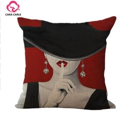 Wholesale Inner Cushions - Portrait Style Almofadas Decorative Throw Pillows Cushion without Inner Home Decor Sofa Soft Hot Sale Cotton Linen Cojines