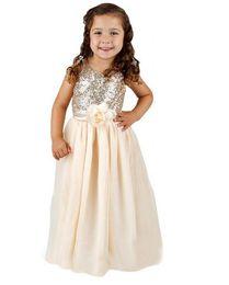 Wholesale Cute Round Collar Dress - Cute girl flower children's wear fashion small round collar sweet sequined sleeveless dresses elegant flower princess dress by hand