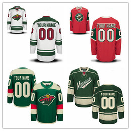Custom Minnesota Wild Mens Womens Youth Red White Green Stadium Series  Personalized Any Name Any Number Stitched Hockey Jerseys S-4XL 54dd86e47