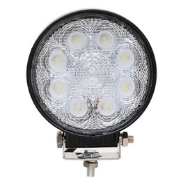 Wholesale Led Headlights For Trucks - 10PCS 4 INCH 24W LED WORK LIGHT ,FOG LAMP, FOR OFF ROAD USE ,4WD,TRUCK ,MOTORCYCLE HEADLIGHT