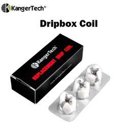 Wholesale Original Decking - Original Kanger Dripbox Coil Rebuildable RBA Deck Subdrip Dual Coils Head Japenese Organic Cotton fit KangerTech Dripbox Kit Subdrip Tank