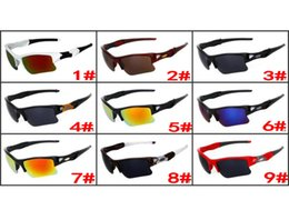Wholesale Sun Glass Price - Wholesale Price Men Women Popular Fashion Sunglasses Resin Lenses Half Frame Wind Goggle Eyewear Designer Sun Glasses Free shipping