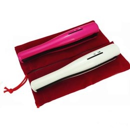 New Hot USB Power Raddrizzatore dei capelli Cordless Raddrizzatore dei capelli Mini raddrizzatore ricaricabile Viaggio Flat Iron Small Pocket Bigodino per capelli da raddrizzatore dei capelli piccoli fornitori