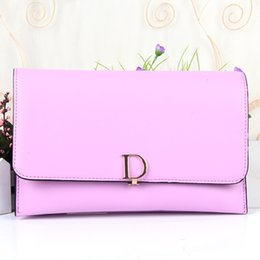 Wholesale Designer Cell Phone Pouch - New Bolsas Femininas Designer Brand Women Handbag Clutch Bags Women PU Leather Handbag Shoulder Pouch Messenger Bag BGE_075