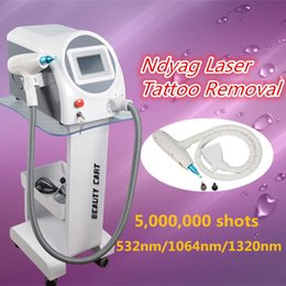 Wholesale Professional Shooting - q switch nd yag laser machine laser tattoo removal Best Professional machine with 5,000,000 Shoots