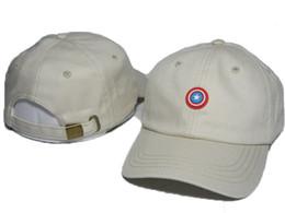 Wholesale Marvel Hats - Brand New Men and Woman Outdoor Visor Marvel Strapbacks hats 6 panel snapback cartoon Baseball cap DENIM HAT drop shipping