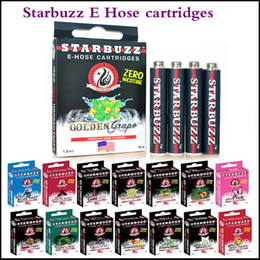Wholesale E Flavours - Starbuzz E Hose cartridges refillable Multi Flavor High Quality E Hose atomizer Various Flavours for Starbuzz ehose via DHL
