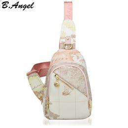 Wholesale Famous World - High quality world map unisex bag waist bag fashion women bag special women messenger bags famous brand shoulder bags HC-W-966