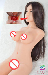 Wholesale Sexy Real Doll Pussy - Realistic full silicone vagina sex doll real japanese love doll for men life size sexy doll sex dolls for men with three hole