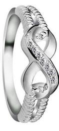 jóia coreana bonito da forma Desconto 925 Sterling Silver Mulheres Anel Nobre Número Coreano 8 Jóias Presente Do Partido New Fashion Atacado Hot Bonito