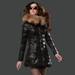 Buenas marcas Abrigo de invierno Estilo de moda para mujer Chaqueta de pluma Negra Damas largas Parka Light Bomber Jackets desde fabricantes