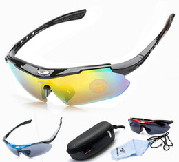 Wholesale Mountain Bike Riding Glasses - Outdoor Sports MTB Road Mountain Cycling Riding Bicycle Bike PC composite resin Sun Glasses Eyewear Goggles