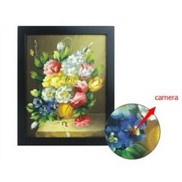 Wholesale Hide Painting - WiFi Painting Hidden Spy Camera Photo frame Spy Camcorder