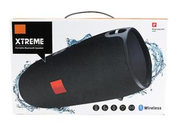 Wholesale Iphone Charge Speakers - Xtreme Bluetooth speakers Outdoor subwoofer waterproof speaker with straps stereo MP3 Player Support USB TF charging for iphone