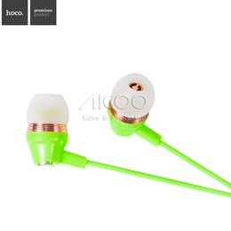 Wholesale M4 Android - HOCO M4 Earphone for HTC Sony LG Android Phone Headphone With Remote Control and Mic for Smartphone In-ear Stereo Headphone with retailbox