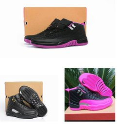 Wholesale Rubber Dynamics - Woman air retro 12s Basketball Shoes Retro XII women designer sneakers ovo white GS Valentines Day Dynamic Barons flu game taxi Sport Shoes