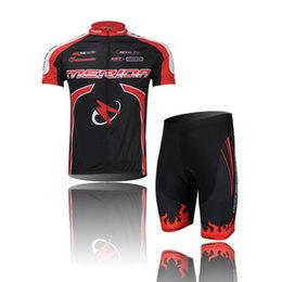Wholesale Merida Bicycle Jerseys - Merida Team Red Cycling Wear Short jersey Bicycle Bike Jersey Cycling Clothing Top mtb jackets Cycling Short Sleeve Set