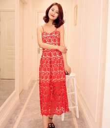 Wholesale Women New Base Skirt - 2016 summer new lace dress slim slim skirt dress skirt Beach Beach Resort Base in