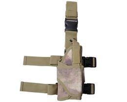 Wholesale Airsoft Leg Holster - 600D Nylon Tactical Universal Pistol Drop Leg Right Hand Holster Airsoft Paintball Military Gun Pouch Hunting Gun Accessories