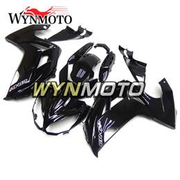 Wholesale Kawasaki 12 - Gloss Black Complete Fairings For Kawasaki Ninja650r 2012-2015 12 13 14 15 ABS Motorcycle Fairing Kit Bodywork Fittings Carenes Body Kit