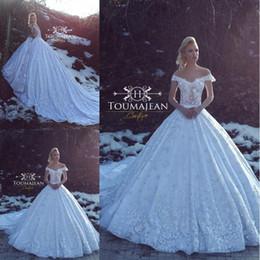 2018 lindo vestido de baile vestidos de casamento vestido de noiva fora do ombro lace total appliqued vestidos de casamento vestidos de noiva robe de mariage de