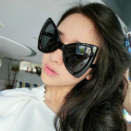 Wholesale-UV400 Vintage Cat Eyes Sunglasses Women Glasses Summer New Fashion  10 Style Cateyes Glasses Oculos De Sol Feminino 1341530 20b226162d