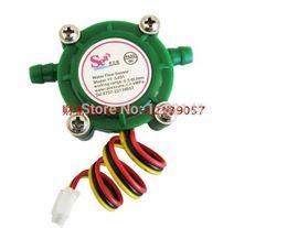 Wholesale Water Flow Control Switch - Wholesale-NEW DC5V - 24V YF-S401 Water Flow Sensor Switch Meter Flowmeter Coffee Dispenser Counter Fluid Control
