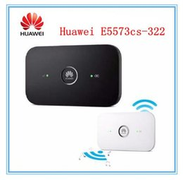 Wholesale Huawei Pocket Wifi Lte - Original Unlocked Huawei E5573 E5573cs-322 150Mbps 4G Modem Dongle Lte Wifi Router Pocket Mobile Hotspot PK 5778 b593 R216 E5372
