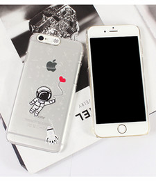 Wholesale Star Mobile Case - For i6 6s 4.7 PC Flash Up Light Luminous LED Mobile Phone Case Cover for iPhone 6 5 5s Plus 5.5 inch Space Star Astronaut Sakura