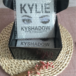 Wholesale Wholesale Powder Usa - 2016 new KYLIE Kyshadow Pressed Powder Eyeshadow Cosmetics Bronze Palette 9 colors popular in usa By DHL free Shipping
