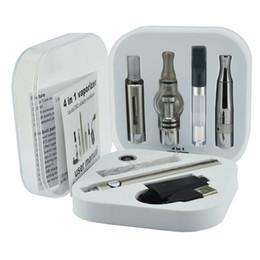 Vendre des cigarettes électroniques en Ligne-Subtech 4 en 1 vape kit evod batterie Cigarette électronique Multi herbe sèche Vaporisateur Starter Kit Vape Pen mt3 réservoir usine vente livraison gratuite