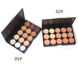 Wholesale Pro Tools Mixing - 2016 New 15 Colors Beauty Pro Face Cream Makeup Concealer Contour Palette Kits Face Cream Makeup Concealer Palette Make up Set Tools DHL