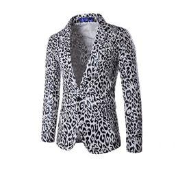 Wholesale Leopard Man Suit Jacket - New men dress gentleman Blazer Men Solid Wedding Dress Suit Coat Male Stage Costumes Slim Fit Casual Blazer Jacket