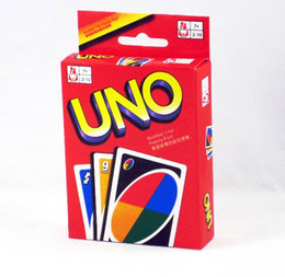 Wholesale Playing Cards Puzzle - UNO Playing Poker Cards Table Game Standard Edition Family Fun Entermainment Board Game Kids Funny Puzzle Game High Quality In Stock