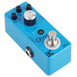 Wholesale Eno Pedals - ENO TC-51 vintage Chorus guitar effect pedal embellishment for tone perfect quint resonate true bypass free shipping