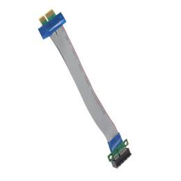 Wholesale Cable Flex Laptop - PCI-E 1x Slot Riser Card Extender Extension Ribbon Flex Relocate Cable Brand C1Hot New Arrival