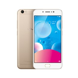 Wholesale Cdma Android Phones Inch - Original Vivo Y67 Mobile Phone MTK6750 Octa Core 4GB RAM 32GB ROM Android 6.0 5.5 inch IPS 16MP 4G FDD LTE OTG Fingerprint Smart Cell Phone