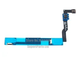 Wholesale Note Home Buttons - Home Menu Button Ribbon Keypad Sensor Flex For Samsung Galaxy Note N 7000I 9220 Tracking NO.